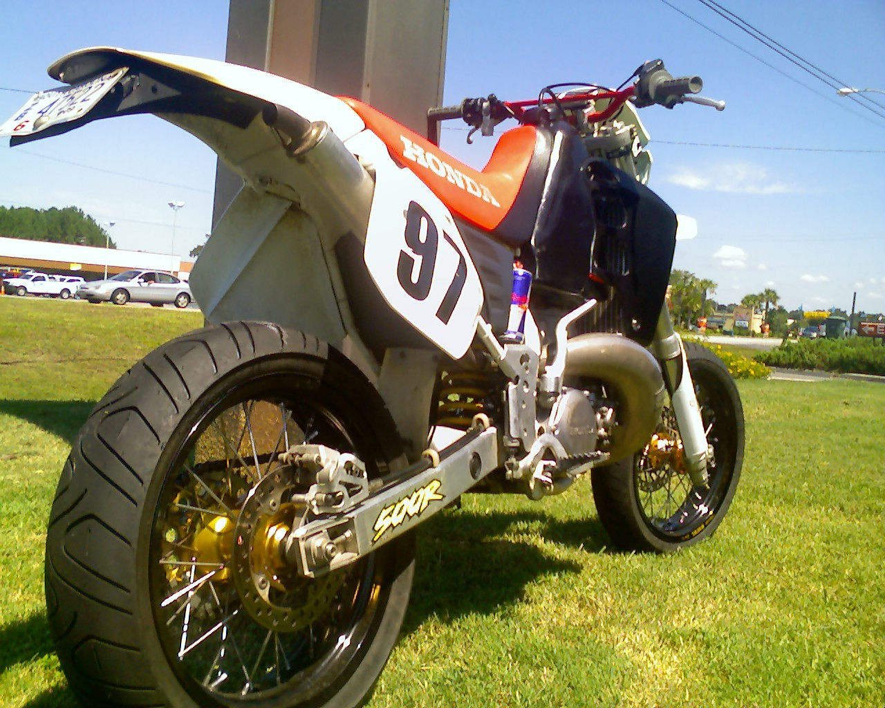 Cr500 Supermoto Street Legal
